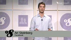 EdgeRankについて語るFacebookのエンジニア アリ・スタインバーグ
