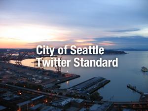 行政のソーシャルメディア利用規準事例〜シアトル市Twitter利用規準