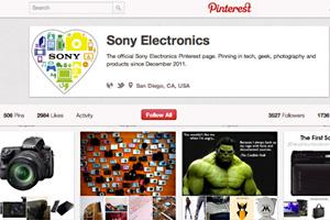 ソニーのPinterest活用事例から学ぶ、初めてのPinterestマーケティング
