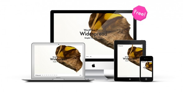 WordPress無料テーマWidespread